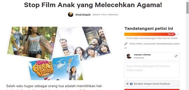 Muncul Petisi, Pembuat Film  Naura & Genk Juara Dituntut Minta Maaf