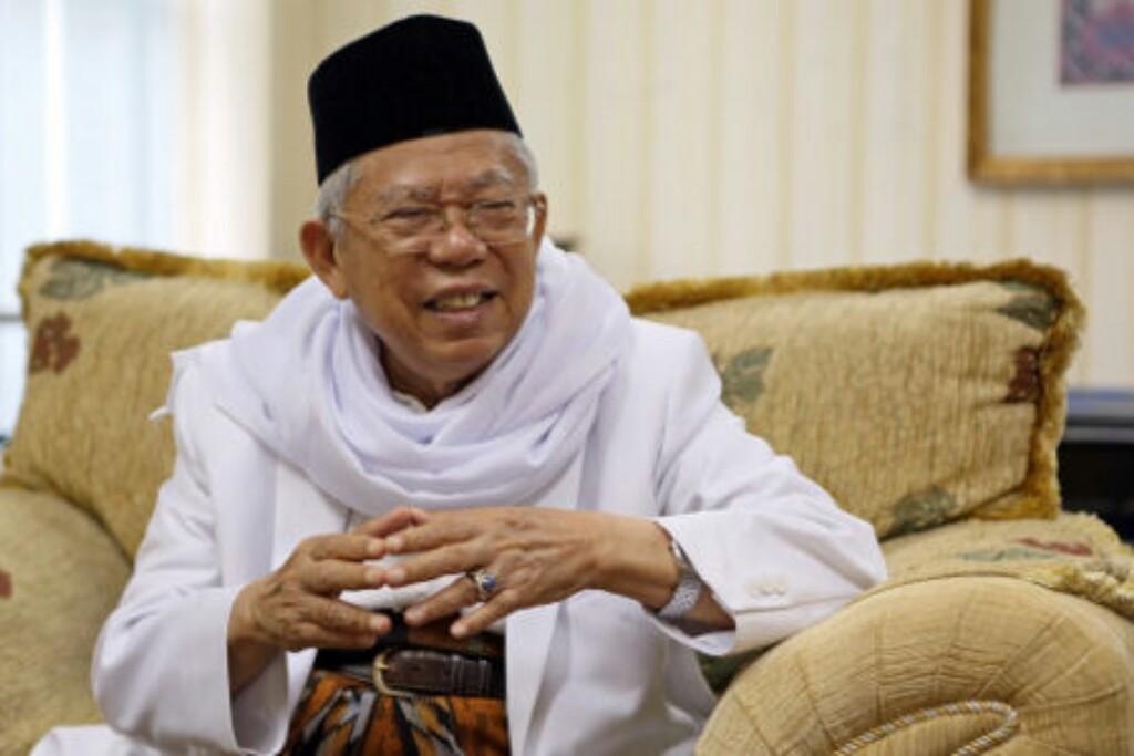 KH Ma'ruf Amin Dituding Tukang Hoax