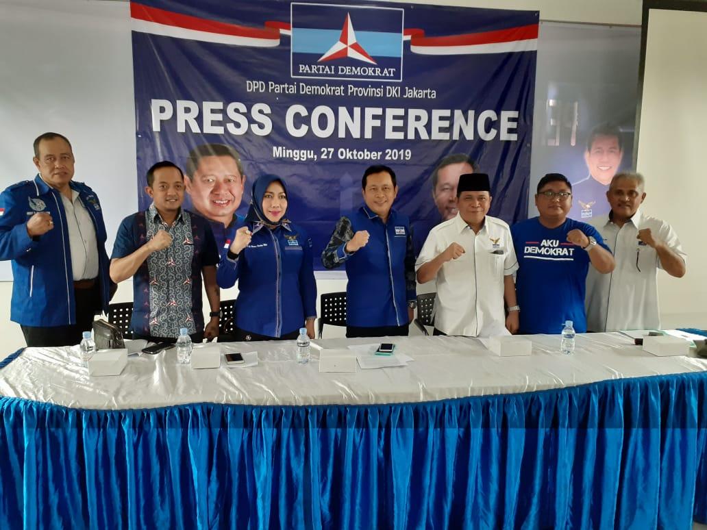Demokrat DKI Hormati Keputusan Jokowi Tak Pilih AHY Jadi Menteri