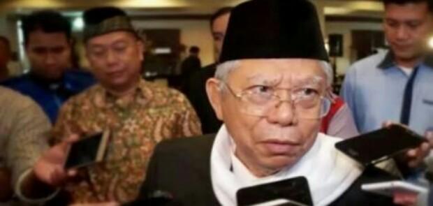 Ma'ruf Amin Diminta Mundur dari Jabatan Ketua Umum MUI