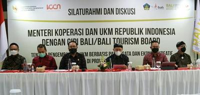 Menkop UKM Teten Masduki Dukung Kebijakan Spasial untuk Pemulihan Ekonomi Bali