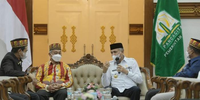 Gubernur Ajak Presiden PKS Promosikan Kondusifitas Aceh