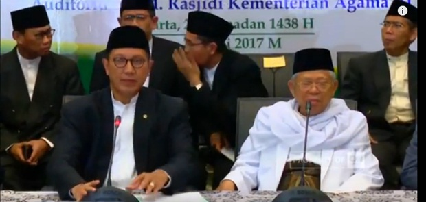 Pemerintah Tetapkan Idul Fitri 2017 Jatuh pada Minggu