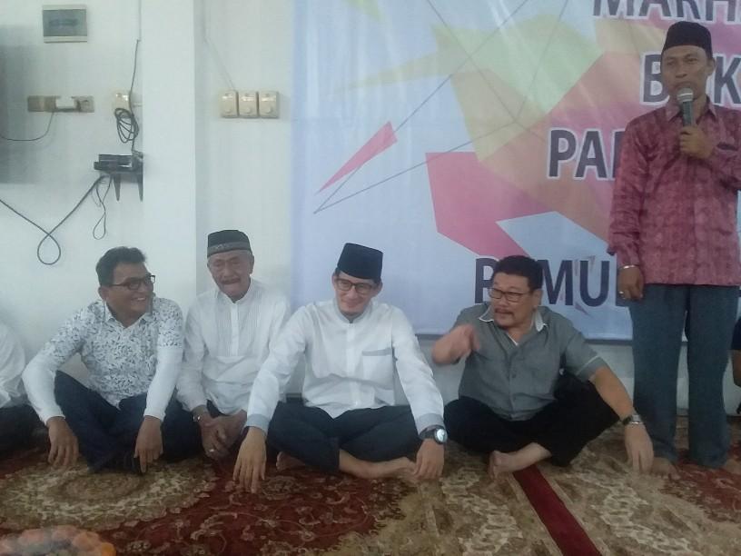 Soal Pertemuan Dengan Jokowi, Sandi Bilang Prabowo Siap Kapan Saja
