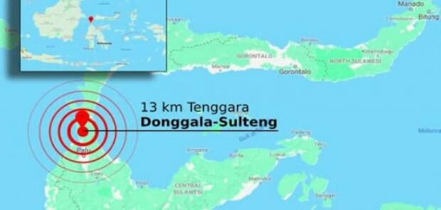 Gempa Donggala Dipicu Aktivitas Sesar Palu Koro