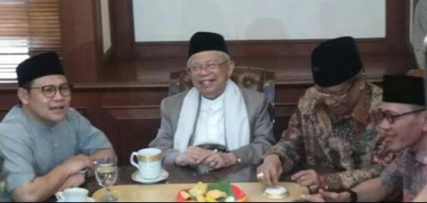 Mundur dari Posisi Rais Aam, Ma'ruf Amin Jadi Penasehat PBNU