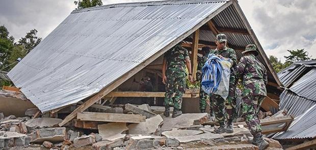 Lombok Diguncang 5 Gempa Susulan Berskala Besar