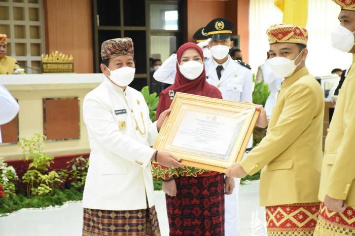 Paripurna Istimewa Akhir Masa Jabatan Walikota Dan Wakil Walikota Bandar Lampung Masa Jabatan 2016-2021