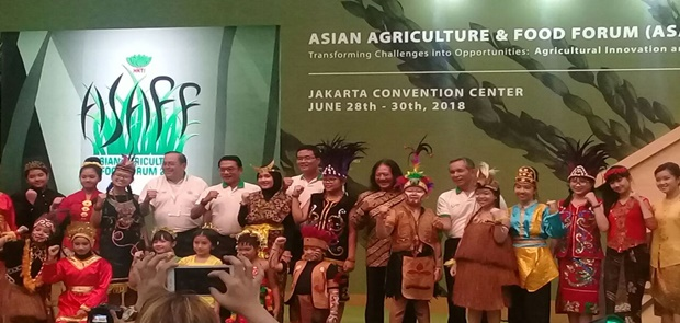 Moeldoko Tutup Asian Agriculture and Food Forum 2018