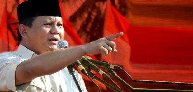 Prabowo Subianto di Teriaki Makar