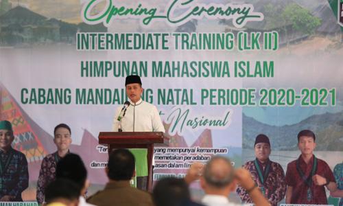 Buka LK II HMI Tingkat Nasional, Wagub Musa Rajekshah Dorong HMI Berperan dalam Pembangunan
