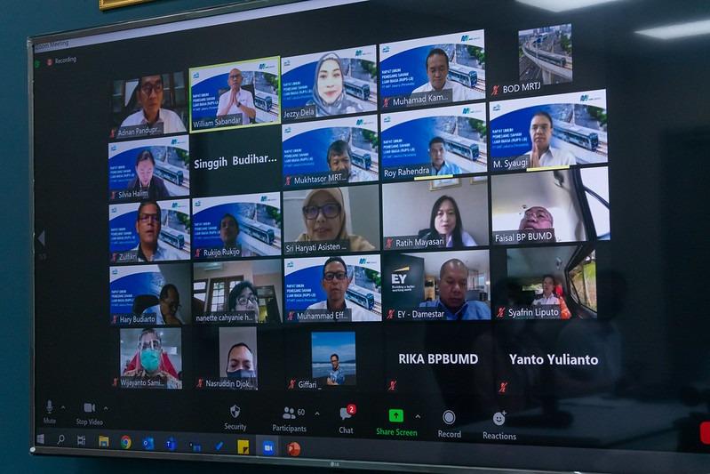 Gelar RUPS Luar Biasa MRT Laporkan Tiga Anak Usaha
