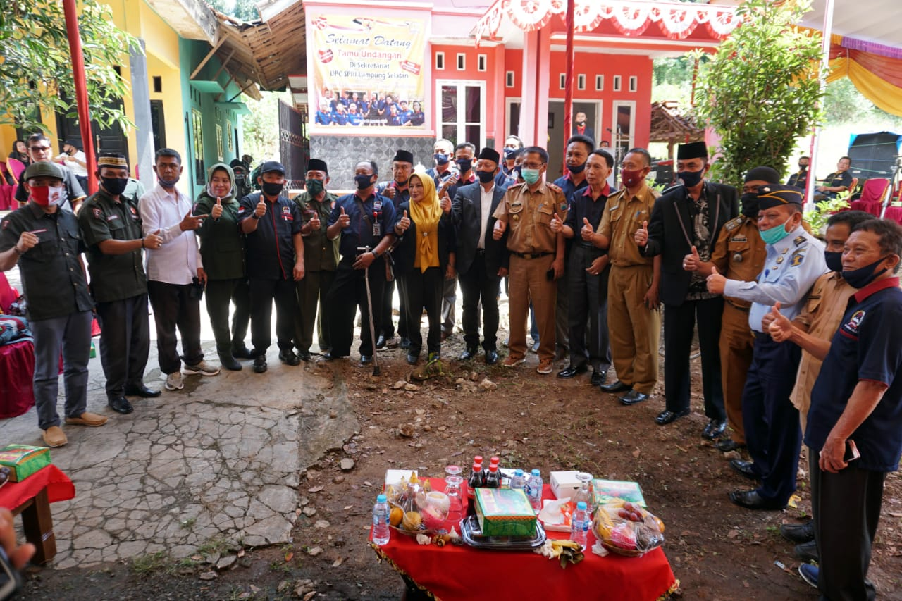 Kepala Dinas Kominfo Silaturahmi Bersama Serikat Pers Republik Indonesia Lampung Selatan