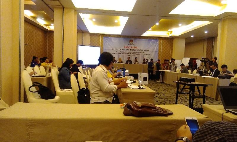 Rekapitulasi KPUD Jaktim, Suara di Dua Kecamatan yang Sudah Dihitung 02 Menang