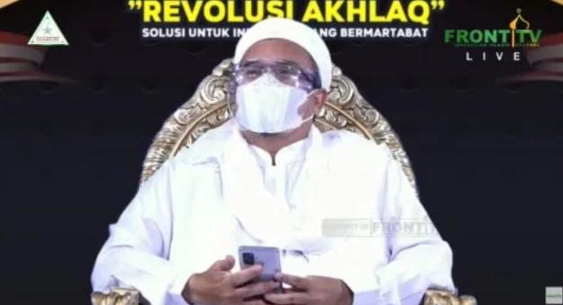 Reuni 212 Virtual, HRS Sebut Kerumunan Jamaah FPI Tanpa Disengaja