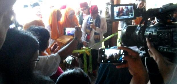 Sandi Resmikan Kampung Betawi di Pasar Seni Ancol