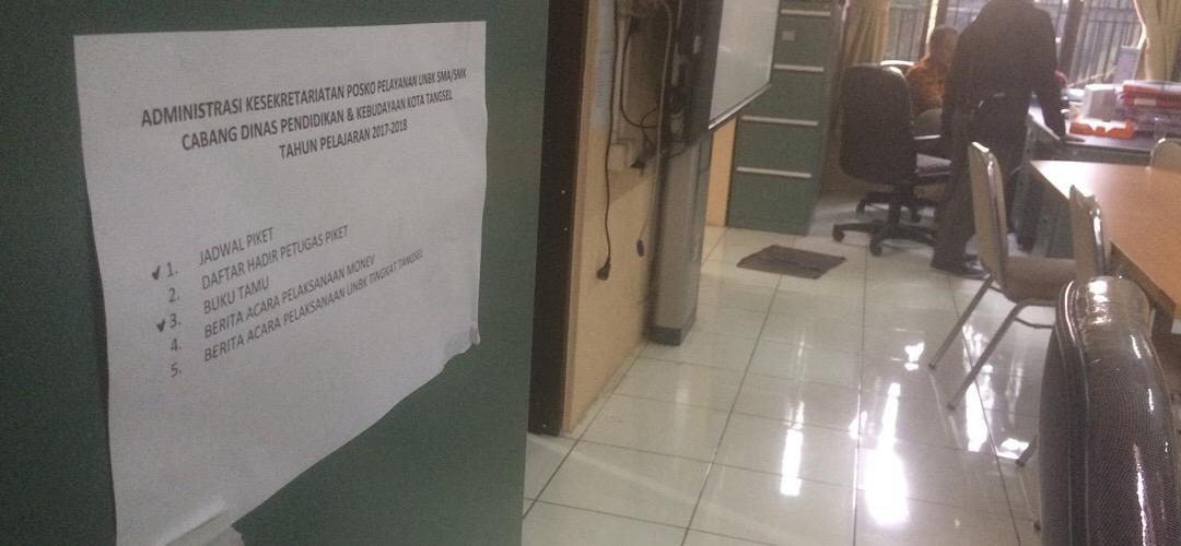KCD DINDIKBUD Provinsi Banten Dinilai Lamban Tangani Keluhan Kepala sekolah