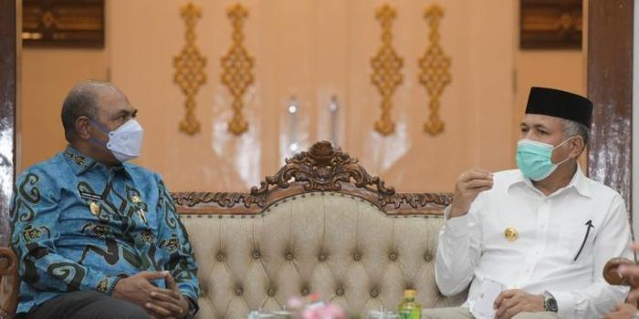 Terima Kunjungan Wagub Papua Barat, Gubernur Aceh Bahas Hutan Hingga Toleransi Beragama
