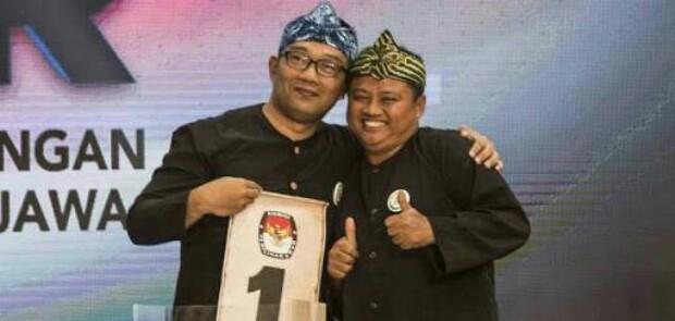 KPUD Umumkan Pasangan Rindu Pemenang Pilkada Jabar