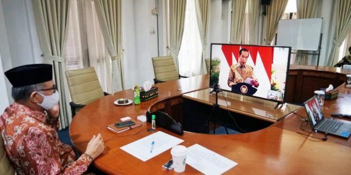 Gubernur Aceh Ikut Rakornas Secara Virtual dengan Presiden Jokowi Terkait Karhutla