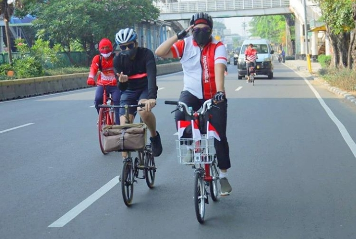 Sebut Pesepeda Berjasa Kurangi Polusi Udara Jakarta, Dewan Gerindra Minta Aparat Kejar Dan Tindak Begal Sepeda