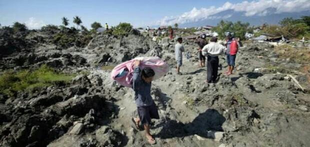 Akibat Gempa 7,4 SR, 2 Desa di Palu Ditenggelamkan Lumpur