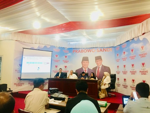 Wakil Ketua BPN Prabowo-Sandi Minta Para Pendukung Pelototi TPS Terdekat
