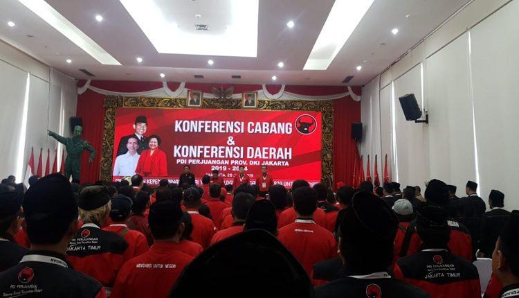 Hasil Konferda, Aming Terpilih Lagi Jadi Bos DPD PDIP DKI