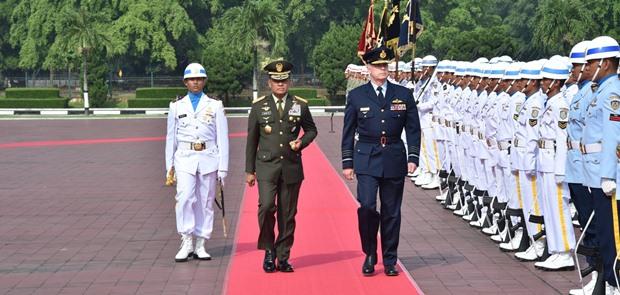 Panglima TNI : Sidang Ke-5 Ausindo HLC Tunjukkan Persahabatan Kedua Negara