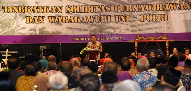 Panglima TNI : TNI Tidak Pernah Melupakan Para Pejuang dan Senior