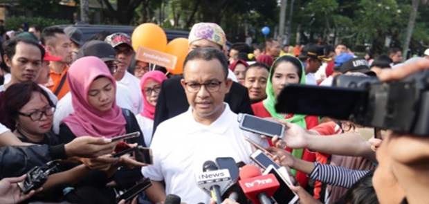 Jakarta Siaga I, Anies Baswedan Minta Warga Tidak Sebar Hoax