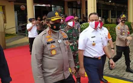 Dukung Anies, Kapolda Langsung Lakukan Operasi Yustisi