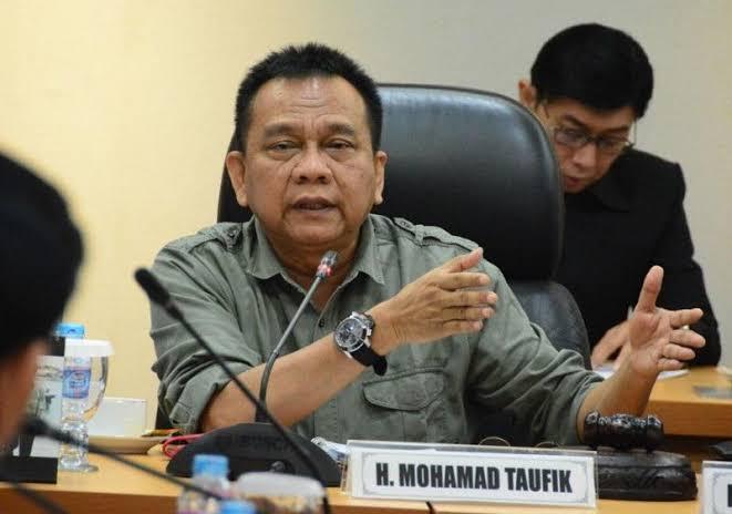Dua Pejabat DKI Mundur, M Taufik : Mereka Tak Bisa Ikuti Sistem Kerja Anies
