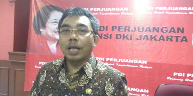 Diisukan Bakal Duduki Kursi Ketua DPRD DKI, Gembong : Kita Serahkan ke DPP