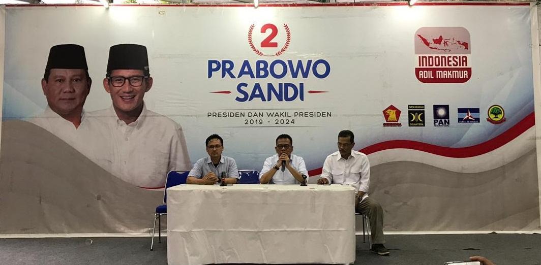 Seknas Prabowo-Sandi Bentuk Tim Advokasi Kecurang Pilpres 2019 di Tiap Kelurahan
