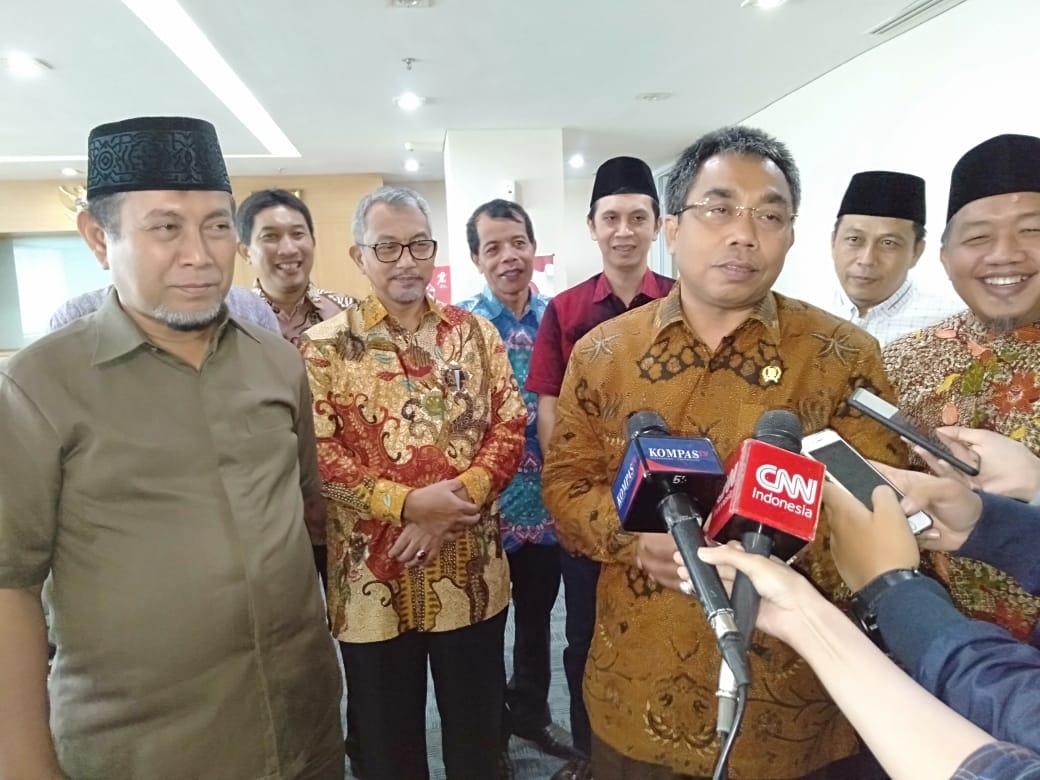 Hanya Dihadiri Perwakilan Fraksi, Silaturahim Cawagub PKS Kurang Sambutan