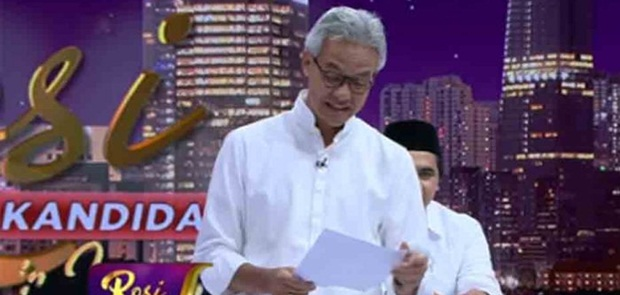Gara-gara Puisi Karya Gus Mus, Ganjar Pranowo Bakal Dilaporkan ke Polisi