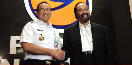 Nasdem Siap Dukung Anies Apabila Mencalonkan Presiden di 2024