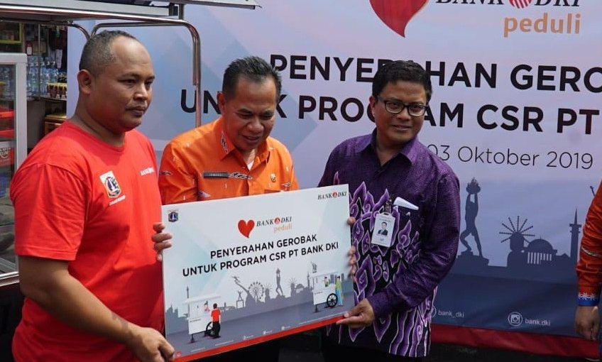 Gencarkan Transaksi Non Tunai Bank DKI Gandeng PKL Sunda Kelapa