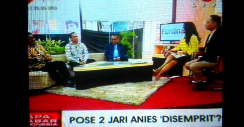 Bawaslu Dalami Laporan GNR Terkait Acungan 2 Jari Anies di Konferensi Gerindra