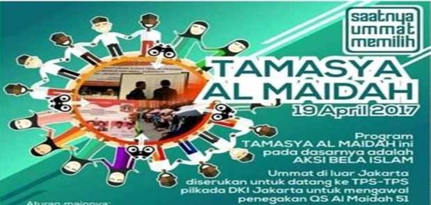 Maklumat Tamasya Al Maidah