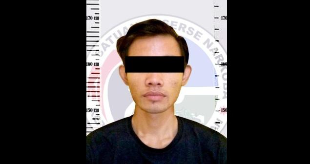 Polisi Ringkus AAS Diduga Pengedar Sabu