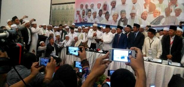 Prabowo: Saya Serahkan Jiwa dan Raga Saya Untuk Indonesia