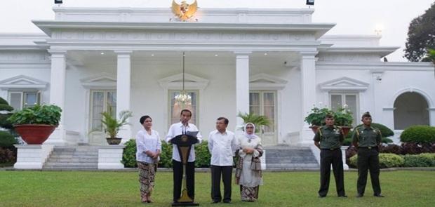 Desember, Jokowi Pindah Kantor ke Istana Bogor