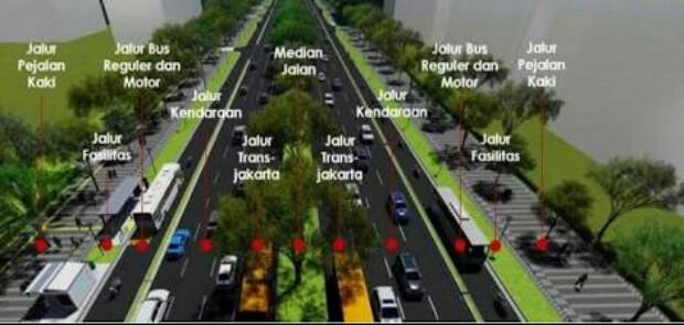 Ketua FKDM Apresiasi Kebijakan Anies Tata Jalan dan Trotoar Thamrin-Sudirman