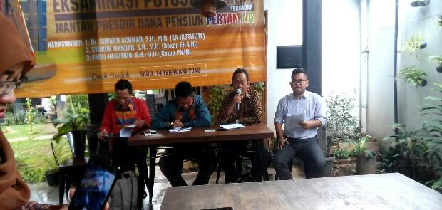 Vonis Mantan Presdir Yayasan Dapen PT Pertamina Dinilai Mengandung Kesalahan Fatal