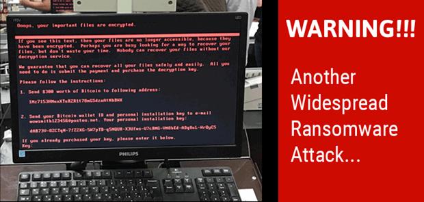 Setelah Virus WannaCry Kini Keluar Virus Ransomware Petya