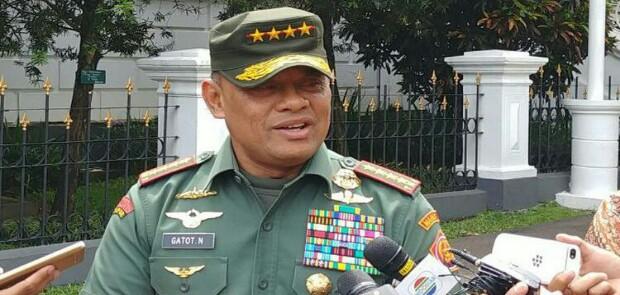 Gatot Nurmantyo Daftar Jadi Capres Partai Gerindra