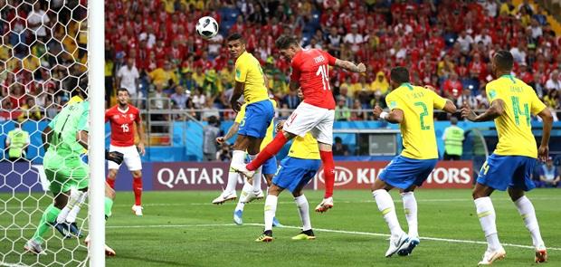 Brasil Dipaksa Bermain Imbang oleh Swiss