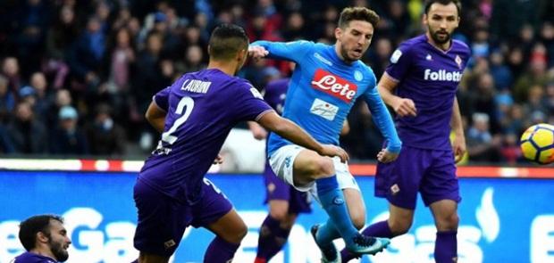 Diimbangi Fiorentina, Napoli Gagal Merayap ke Puncak Klasemen